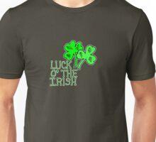 Saint Patrick's Day luck of the Irish   Unisex T-Shirt