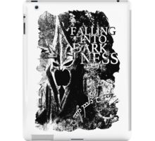 Falling into Darkness iPad Case/Skin
