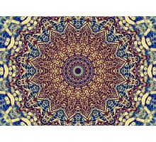 Mandala Water Photographic Print