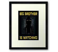"""Big Brother"" Framed Print"