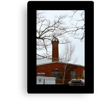 Nikola Tesla's Wardenclyffe Laboratory Building Tower - Shoreham, New York Canvas Print