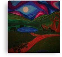 Safari Trip Canvas Print