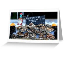 Oyster Bar - Whitstable  Greeting Card