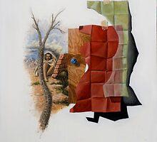 Cubo-Metaphysical Composition IX by Jósean Figueroa