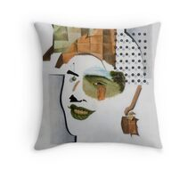 Cubo-Metaphysical Composition X Throw Pillow