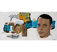Cubo-Metaphysical Double Self-Portrait Photographic Print