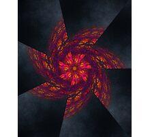Mandala Like a Wind Photographic Print