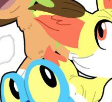Gen VI Pokemon Starters Sticker