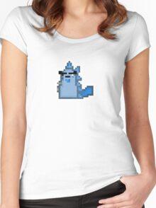 Megasaur 64 - ASittingDuckTV Women's Fitted Scoop T-Shirt