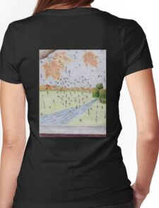 Heart of Rain Womens Fitted T-Shirt