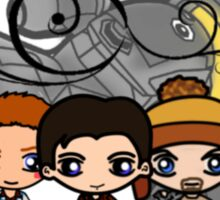 Firefly - Serenity and Crew Sticker