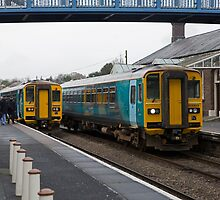 Class 153 Super Sprinters are single-coach diesel multiple units converted from two-coach  by Keith Larby