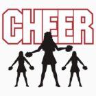 """Cheerleader """"CHEER"""" by SportsT-Shirts"""