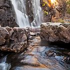 Sunsets over Mackenzie Falls by Ron Finkel