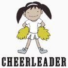 Cute Cheerleader by SportsT-Shirts