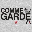 Come Into My Guard (Comme des garçons) by bammydfbb
