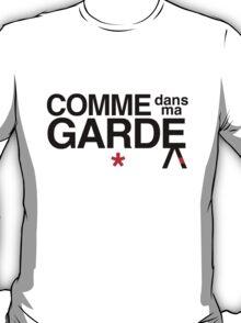 Come Into My Guard (Comme des garçons) T-Shirt