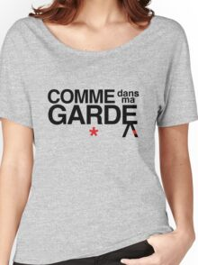 Come Into My Guard (Comme des garçons) Women's Relaxed Fit T-Shirt