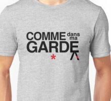 Come Into My Guard (Comme des garçons) Unisex T-Shirt