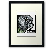 """Sir Digby, 2014"" Framed Print"