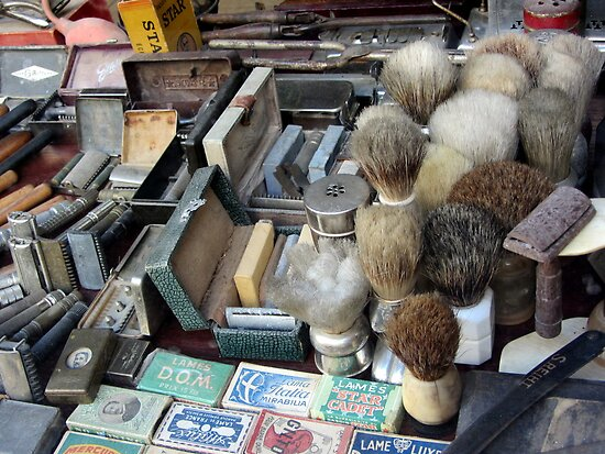 Shaving tools by bubblehex08