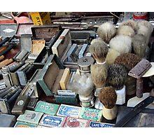Shaving tools Photographic Print