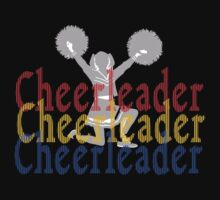 Cheerleader Dark by SportsT-Shirts