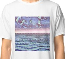 Ocean Fantasy Abstract Painting Classic T-Shirt