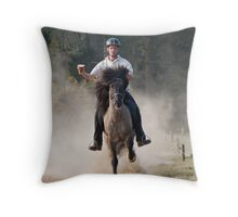 Did someone call 'time'?   Throw Pillow