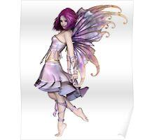 Pretty Purple Fairy Poster