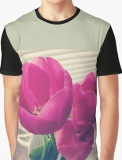 tender tulips flowers floral Graphic T-Shirt