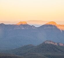 Surise from Mt William by Ron Finkel
