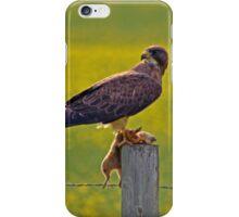 Canola Field Catch iPhone Case/Skin