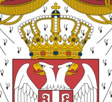 Coat of Arms of Serbia Sticker
