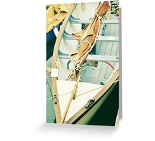 Little Wooden Boat Greeting Card