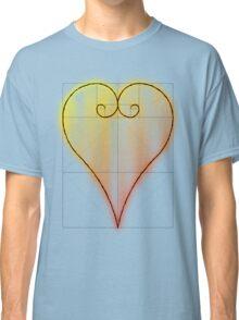 Fibonacci Valntine Heart - Tee Version Classic T-Shirt