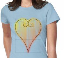 Fibonacci Valntine Heart - Tee Version Womens Fitted T-Shirt