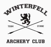 Winterfell Archery by sophiestormborn