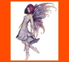 Pretty Purple Fairy Kids Tee