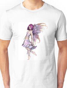 Pretty Purple Fairy Unisex T-Shirt