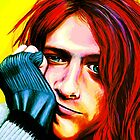 Kurt Cobain - Ultra Color Version by SRowe Art