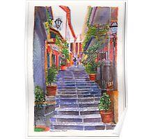 Bellagio Steps Poster