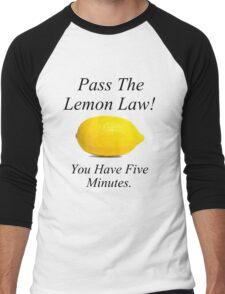 Lemon Law Men's Baseball ¾ T-Shirt
