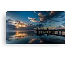 Cloud to water Canvas Print