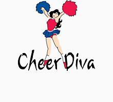 """Cheerleading """"Cheer Diva"""" Womens Fitted T-Shirt"""