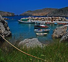 port of antikythira by konsolakism