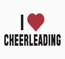 "Cheerleader ""I Love Cheerleading"" by SportsT-Shirts"