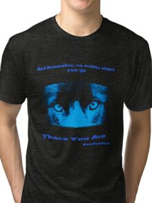 Inspirational Reflection Confucius Quote Tri-blend T-Shirt
