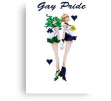 Gay Pride Sailor Moon Canvas Print