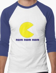 nom nom nom Men's Baseball ¾ T-Shirt